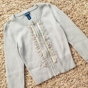 Old Navy Sweater Zipper Front Medium